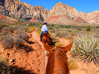 Balade à cheval dans le Red Rock Canyon - Le guide