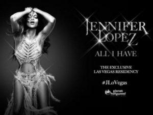 Billets pour Jennifer Lopez à Las Vegas