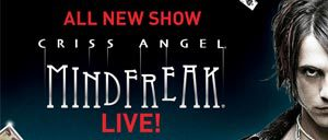 Billets pour Criss Angel MINDFREAKdu Cirque du Soleil