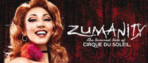 Billets pour Zumanity du Cirque du Soleil