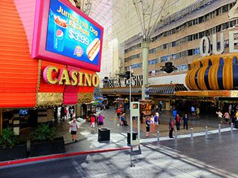 Bus touristique Big Bus à Las Vegas - Downtown