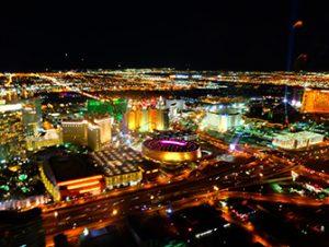 Vol en hélicoptère à Las Vegas