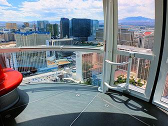La LINQ High Roller de Las Vegas - De l'intérieur