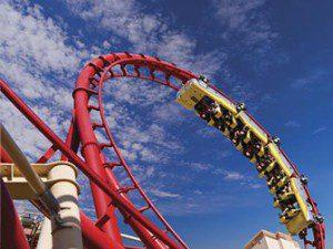 Le Big Apple Las Vegas Roller Coaster