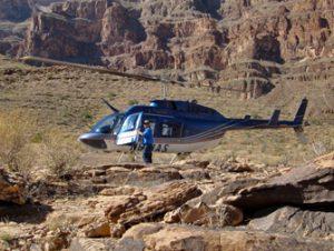 Vols en hélicoptère vers le Grand Canyon