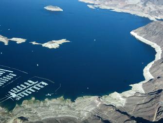 Le Lac Mead - Vue