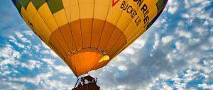 Un voyage en montgolfière à Las Vegas